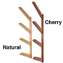 wooden surfboard wall rack storage mount shelves furniture stylish finish dark light 4 levels best