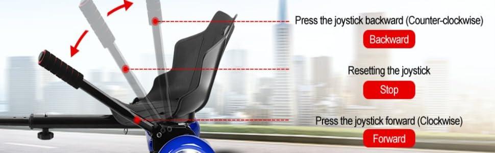 Amazon.com: E T - Soporte para asiento de kart (6,5