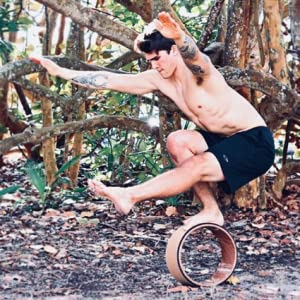 balance technique strength yoga wheel