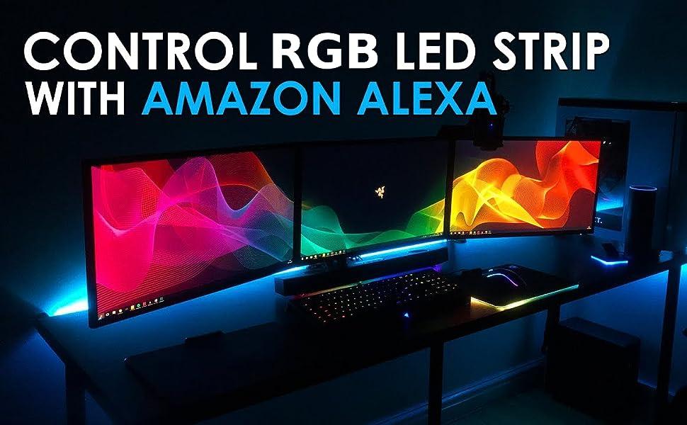 Compatible with Amazon Alexa