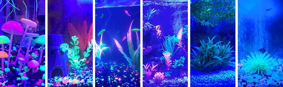 amazon com mingdak led aquarium light kit for fish tank