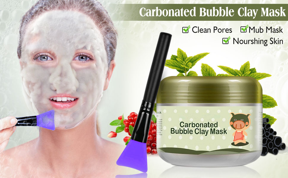 Carbonated Bubble Clay Mask Bubbles Mud Mask