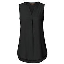 sleeveless chiffon tunics shirts tank tops for leggisng