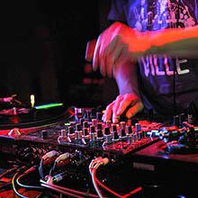 DJ on the club