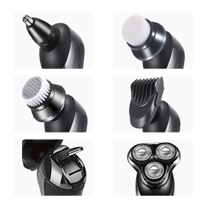 5 IN 1 Multi-Functional Electric Shaver