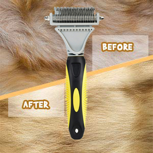 Dematting comb