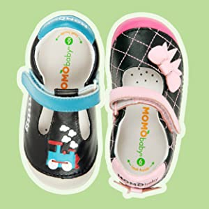 Momo Baby natural leather insoles