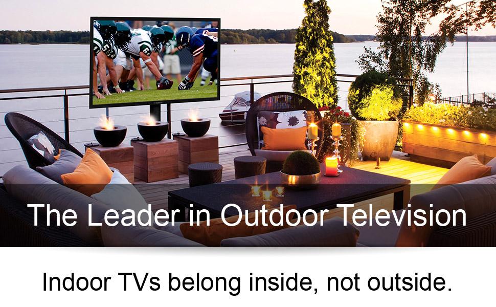 Bright outdoor tv