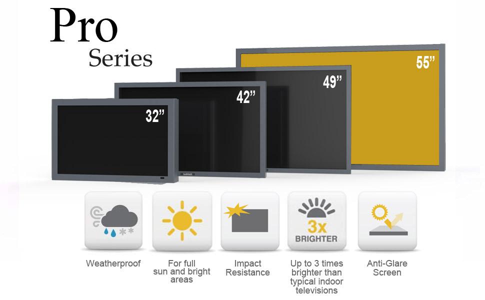 Pro Outdoor TV 55