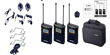wireless lavalier microphone system,