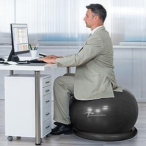 ball chair office