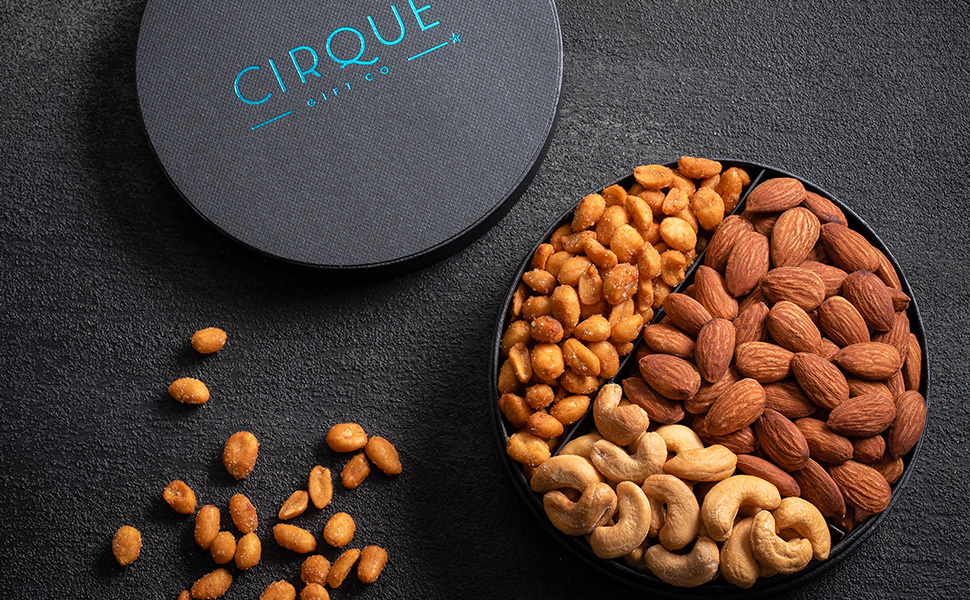 Amazon com : Gourmet Nut Gift Tray - 6