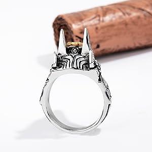women men good luck rings egyptian amulet minimalist rings goddess isis talisman rings