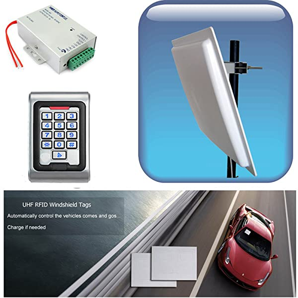 Security & Protection Access Control Kits Nice Rs232 Rs485 Rfid Access Control System Door Access Panel Interface Gate Access Controller For Two Door