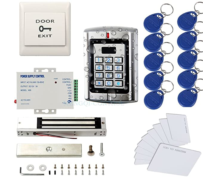 Amazon.com : Metal Weatherproof Access Control System 600LBS Force on lock wire chart, lock wire specification, lock wire tools, lock wire gauge, lock cable, lock plug, lock wire procedure, bearing diagram, rivet diagram,