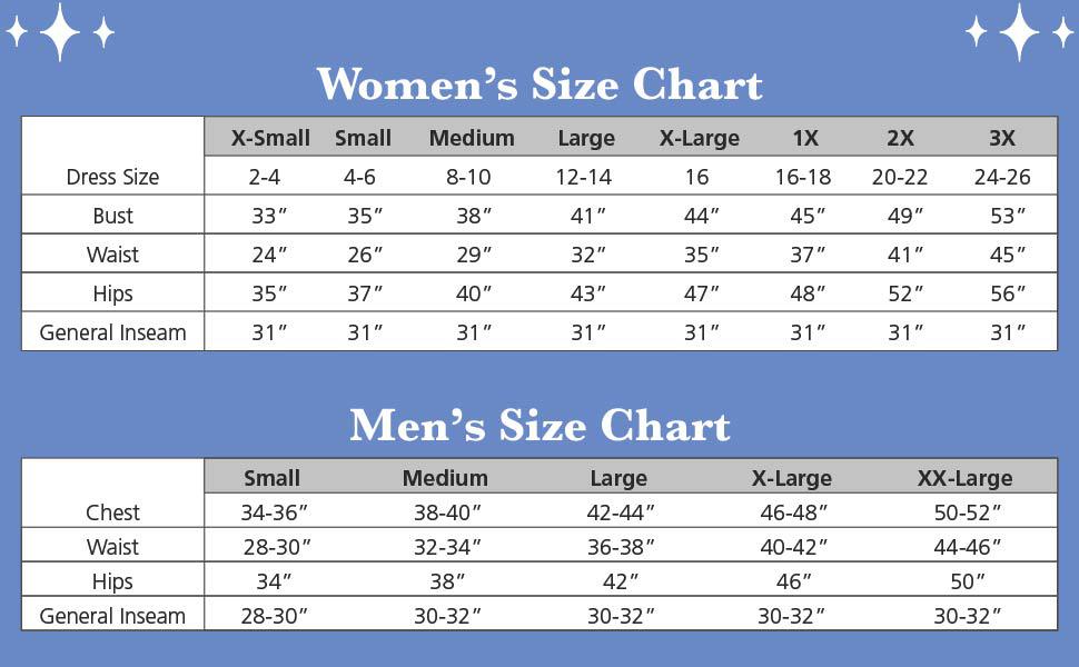 Pill Size Chart