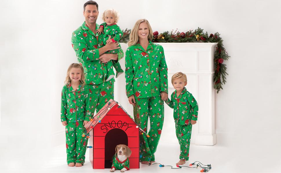 07bb6a6ab554 PajamaGram Family Christmas Pajamas Soft - Christmas Pajamas for ...