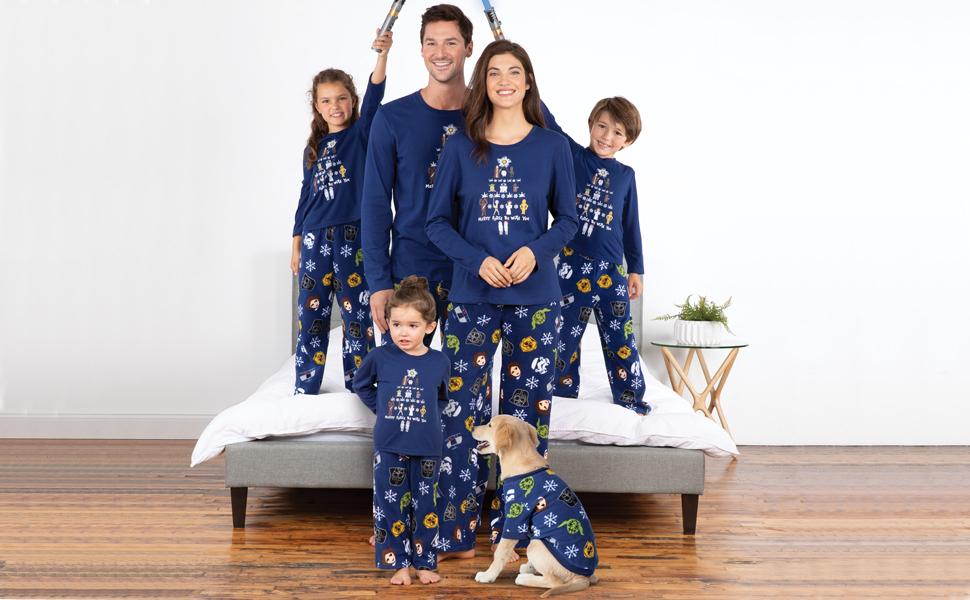 95425d4d7fb6 PajamaGram Star Wars Family Pajamas - Fun Christmas Pajamas