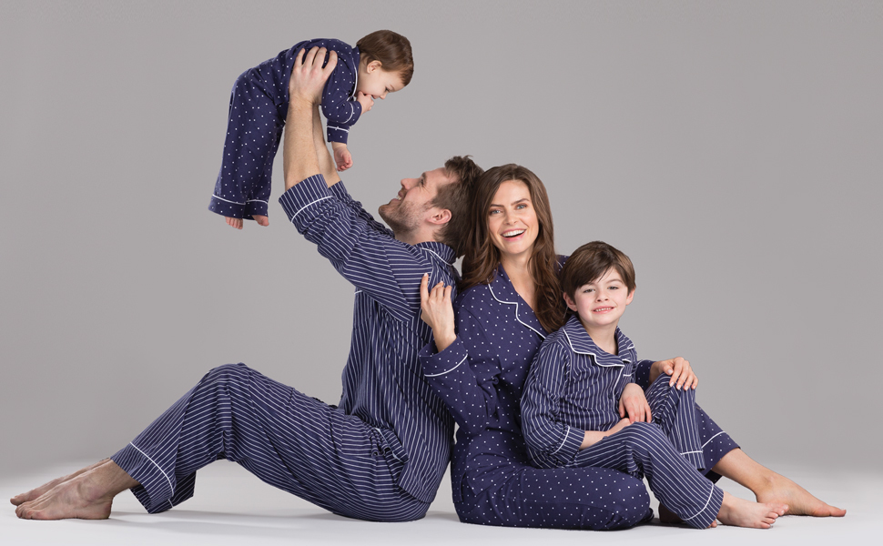 53ccfb9ef0 PajamaGram Family Pajamas Super Soft - Family Matching Pajamas