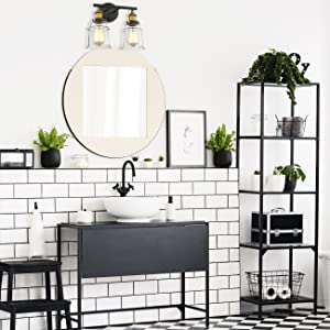 2-Light Bathroom Vanity Light
