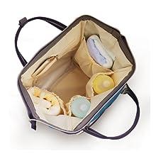 Pipi bear Large Capacity Diaper Bag Backpack