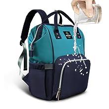 Pipi bear Waterproof Diaper Bag Backpack