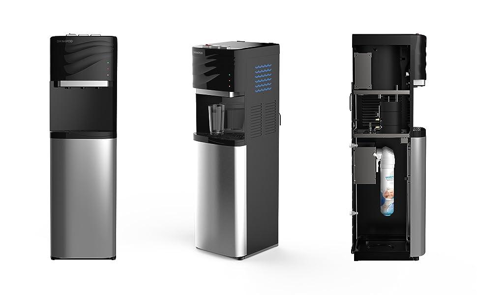 Drinkpod Bottleless Water Cooler Dispenser - Over look