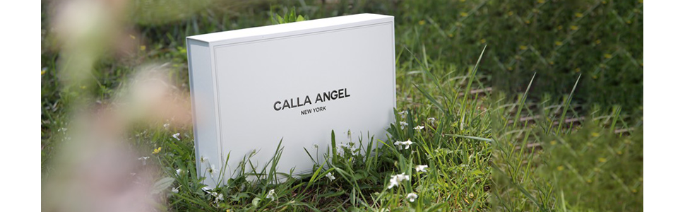 calla angel luxe chain egyptian cotton towel Package