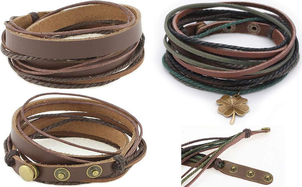 Leahter Bracelet