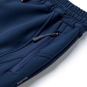 Zippered hand pockets