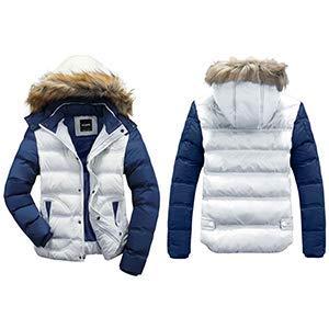Wantdo men's winter removable hooded cotton vest outerwear