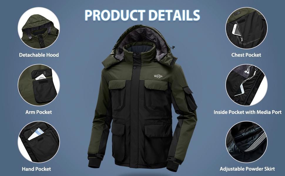 a8bef5ae91fa Men s Rain Jacket · Men s Warm 3-in-1 Ski Jacke · Men s Ski Jacket · Men s  Hooded Ski Jacket · Men s Warm Ski Pants · Men s Snow Bib Pant