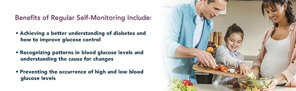 diabetes management check blood glucose levels diabetics glucose meter kit