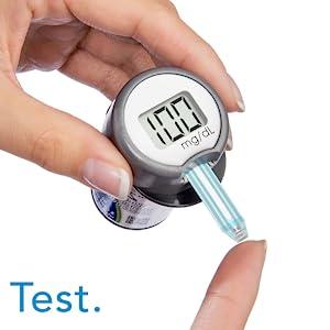 glucose meter kit blood test kit diabetic test kit glucose monitor