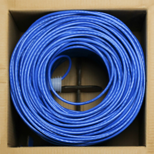 Cat6 bulk cable available in an easy-pull box
