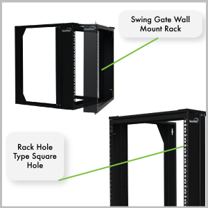 Amazon Com Navepoint 12u Wall Mount It Open Frame 19 Inch