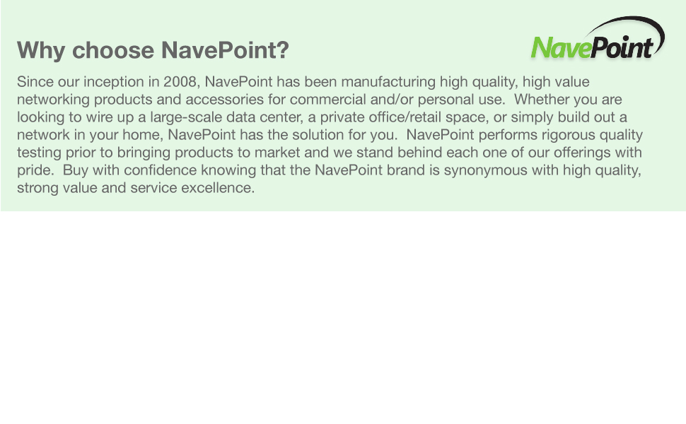 NavePoint Cables