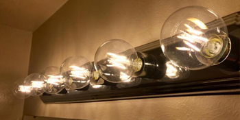 vanity light bulb
