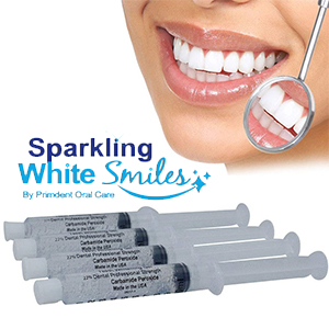 Custom Dental Teeth Whitening/Bleaching Trays, with Dental Teeth Whitening Gel