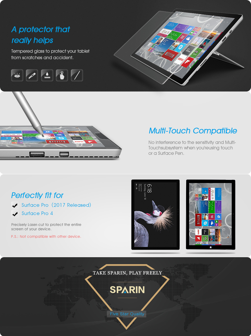 Surface Pro 4 123 Inch
