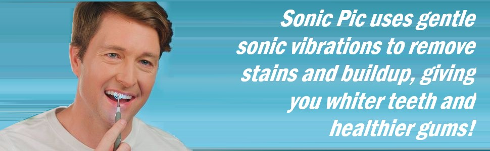 sonic pic electric dental cleaning pic