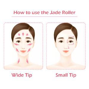 Skin jade roller