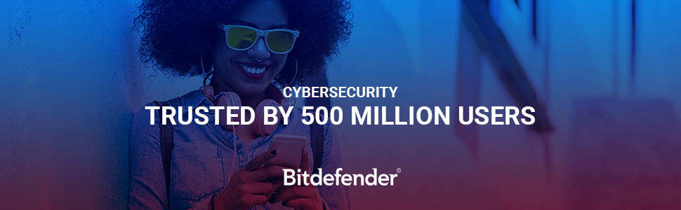 Bitdefender Trusted by 500 Million