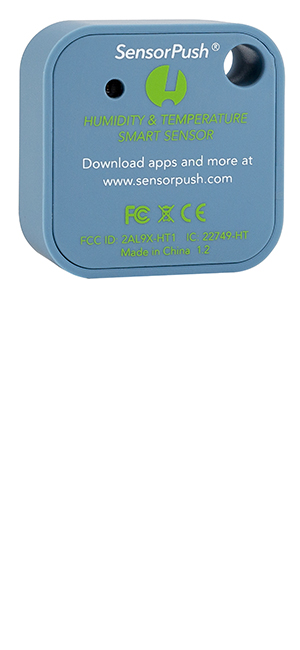 SensorPush HT1 Temperature and Humidity Smart Sensor Back
