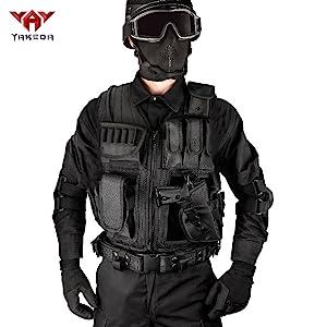 Tactical shooting vest