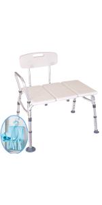 Amazon.com: Medokare Padded Round Shower Stool - Shower Seat for ...