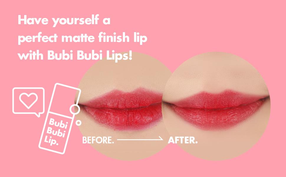 Bubi Bubi Lip: Remove Lip Dead Skin Bubble Scrub (No Microbeads)