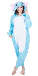 Adult/Teen Blue Elephant