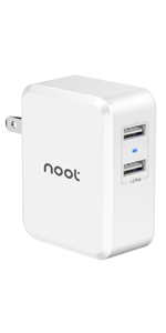 Amazon.com: noot products USB Charger 60W Desktop Multi Port ...