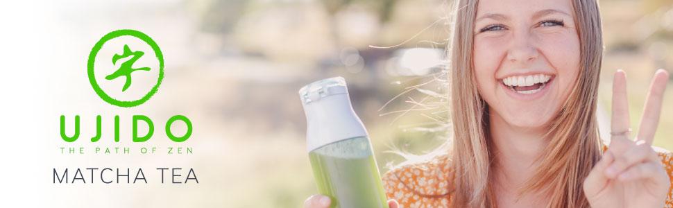 Ujido, The Path of Zen, Matcha Tea, Tea, Matcha, powder, drink, health, natural